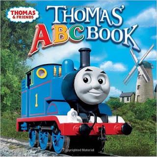 thomas the train alphabet book