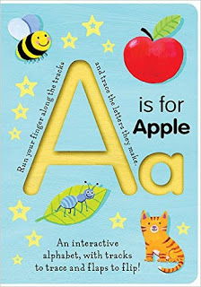trace the alpahbet letters and lift the flap alphabet book