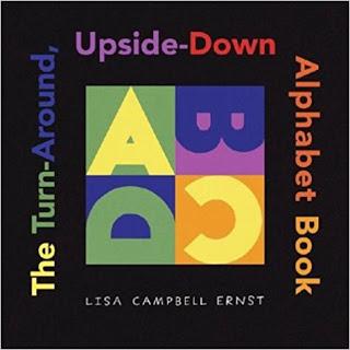 upside down alphabet book