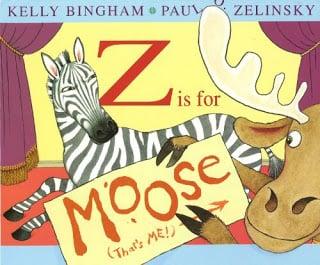 z is for zebra alphabet book