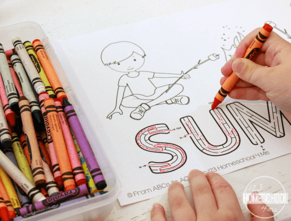 Summer Printable Activity Pages for Kids