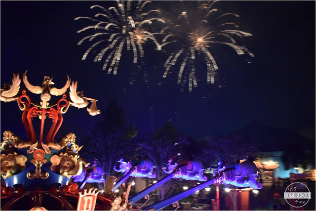 best places to see Disney World fireworks at the magic kingdom