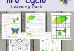 Butterfly Life Cycle Learning Pack