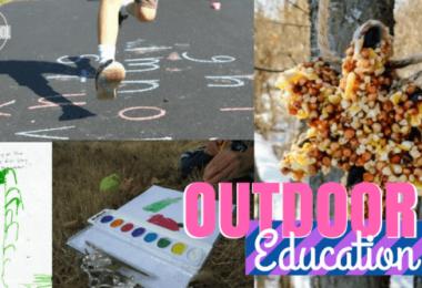Outdoor Education in Your Homeschool