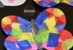 Tissue Paper Butterfly Crafts