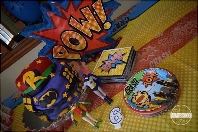 girl super hero birthday party