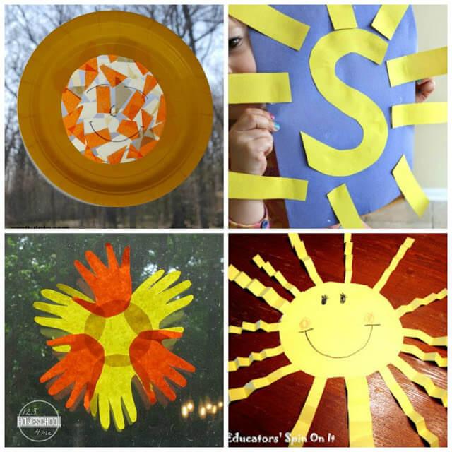 Sun Crafts for Kids