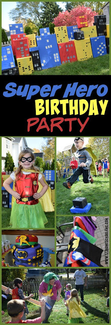 Make your child's next birthday party amazing with this fun, creativesuper hero birthday parties. Thissuper heroes birthday party has tons of fun superhero decorations, party favorites, super hero food, and of coursesuperhero birthday party games activities! Whether you have a toddler, preschool, pre-k, kindergarten, first grade, 2nd grade, 3rd grad, or 4th grade student - this funsuperhero party idea is a MUST!