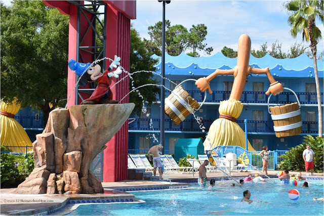wdw resort tips