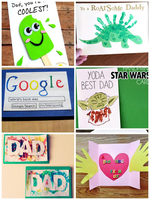 Homemade Father's Day Cards