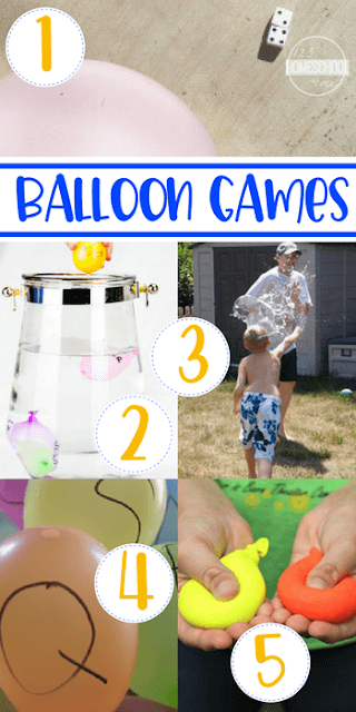 Educational Balloon Gamea