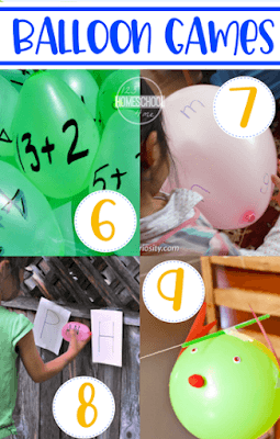 Educational Balloon Games