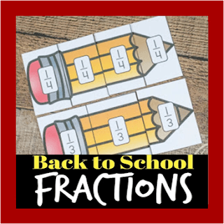 back to school fractions practice