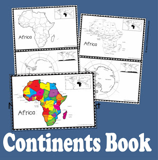 continents book for kids