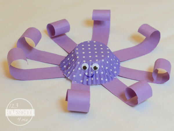 O is for Octopus Preschool Craft