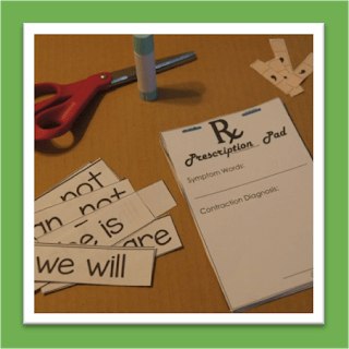 Bandaid Contractions Game
