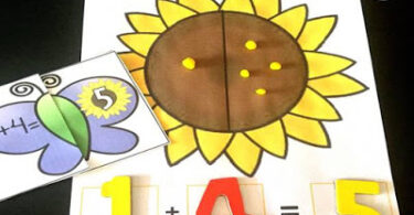 Butterfly-Addition-Puzzles