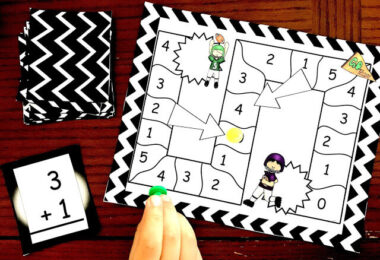Addition and Subtraction Within 5 Math Game