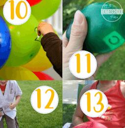 Educational Balloon Games