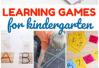 Kindergarten Games for Learning