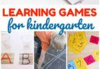 Kindergarten Games for Learning
