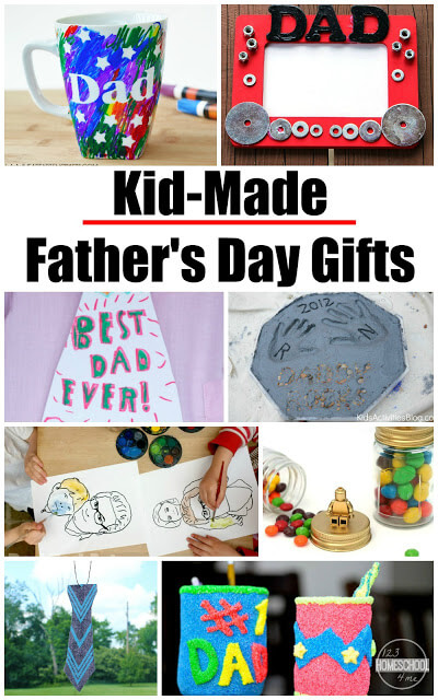 18 Creative Father's Day Crafts - so many really creative ideas to make the perfect father's day gifts kids can make themselves. #fathersday #fathersdaygifts #fathersdayideas