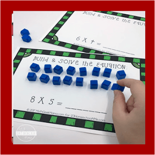 interactive multiplication mats