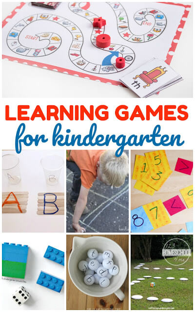 35 Kindergarten Games for Learning