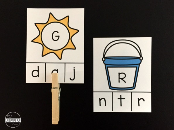 uppercase alphabet letters and lowercase alphabet letter match