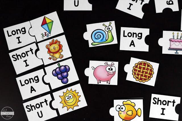 vowel activities