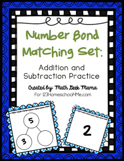 Number Bonds Games