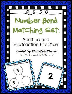 Number Bonds Games