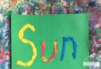 Summer Alphabet Clay Art