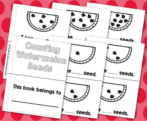 Watermelon-Counting-Book