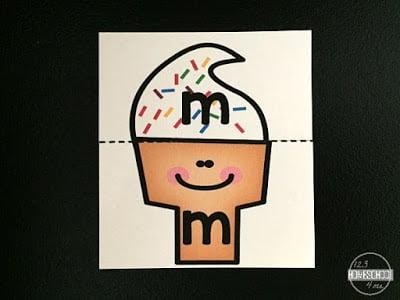 Ice Cream Alphabet Puzzles