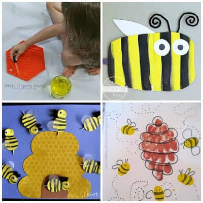 Bee Crafts for Preschool