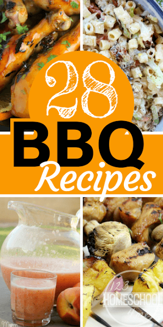 28 Best BBQ Recipes - lots of yummy recipes your next barbecue gathering for neighborhood block party, family reunion, memorial day, labor day, or Sunday dinner. YUM #recipes #bbq #yummy