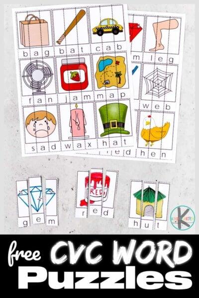 FREE-Printable-CVC-Word-Puzzles-Activity-for-Kindergarten-400x600