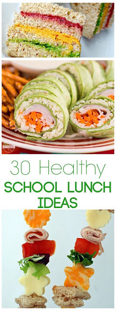 30 Fun, Easy, Healthy, and Creative School Lunch Ideas