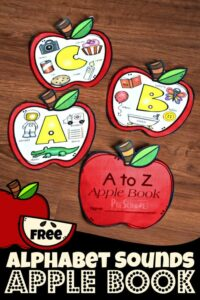 Beginning Sounds Apple Book