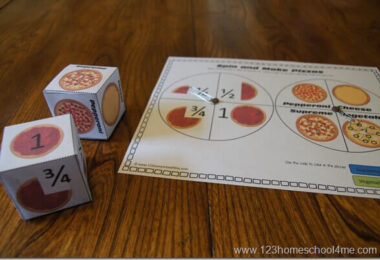 Pizza-Fraction-Games