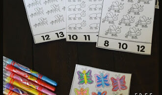 Count to 30 Bugs Activity