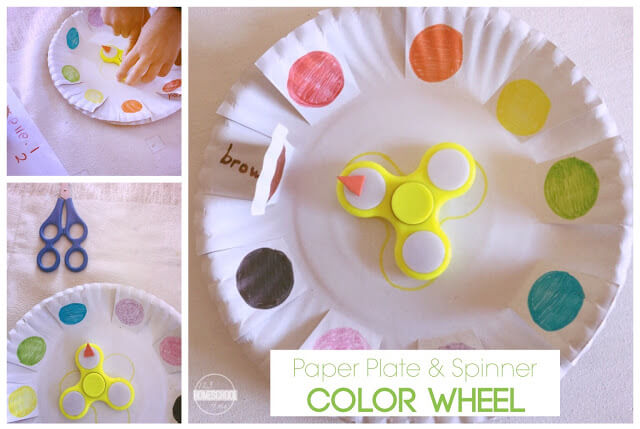 fidget spinner color wheel