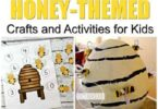 Did you know that National Honey Bee Day is on August 17th? And September is National Honey Month? What better time to learn about the amazing sweetener that is honey and what clever insects make that honey for us! We have tons of fun honey bee activities for toddler, preschool, pre k, kindergarten, first grade, and 2nd grade students!