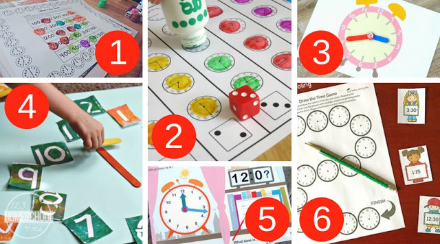 FREE Telling Time Games