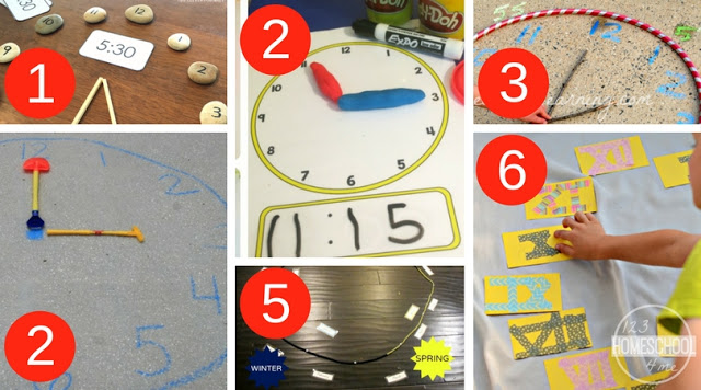 Kinesthetic and Hands-On Telling Time Learning