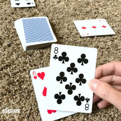 cool math games using a deck of cards