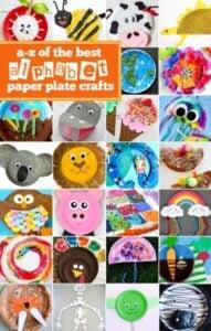 Alphabet Paper Plate Crafts