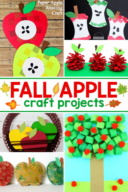 Fall Apple Art Projects Fall is the perfect time to try one of these apple crafts for kids.