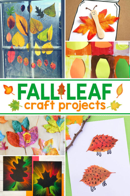 Fall Leaf Art Projects Collect some colourful leaves and enjoy making these gorgeous fall leaf crafts.